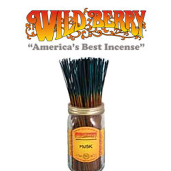 "Musk Wildberry 11"" Stick Incense"
