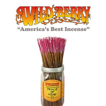 "Peace of Mind Wildberry 11"" Stick Incense"