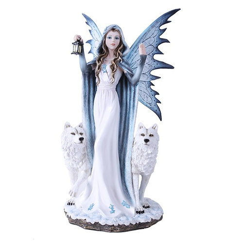 Guiding Light Fairy with Wolves