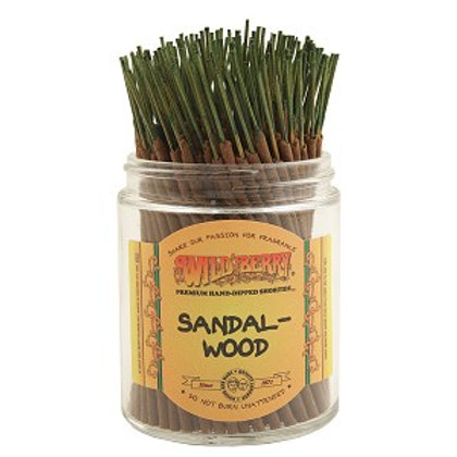 "Sandalwood ""Shorties"" Wildberry 4"" Stick Incense"