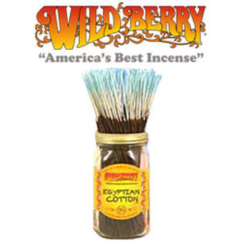 "Egyptian Cotton Wildberry 11"" Stick Incense"