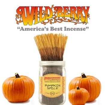 """Pumpkin Spice Wildberry 11"""" Stick Incense"""