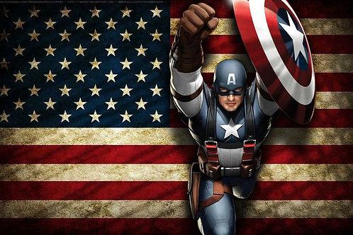Captain America e-Juice (Poly Edition)