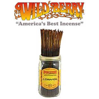 "Cinnamon Wildberry 11"" Stick Incense"