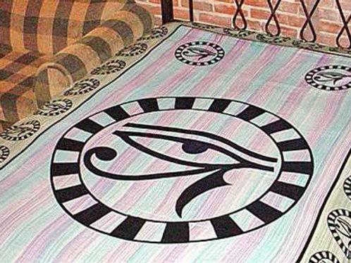 "Green Egyptian Eye Tapestry - 72"" x 108"""