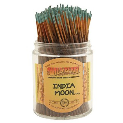 "India Moon ""Shorties"" Wildberry 4"" Stick Incense"