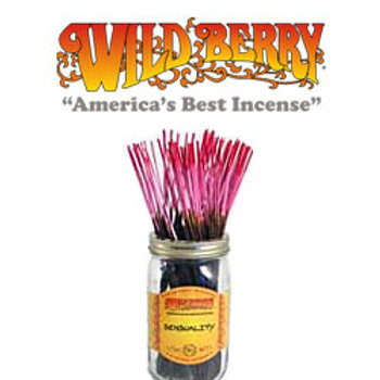 "Sensuality Wildberry 11"" Stick Incense"