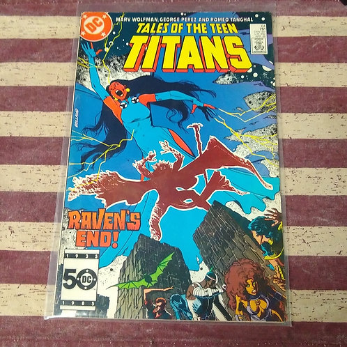 Apr 86 Tales of the Teen Titans