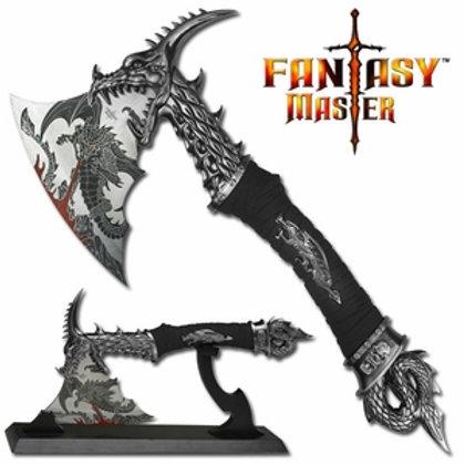 """Fantasy Master 14.5"""" Dragon Fantasy Axe"""