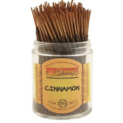 "Cinnamon ""Shorties"" Wildberry 4"" Stick Incense"