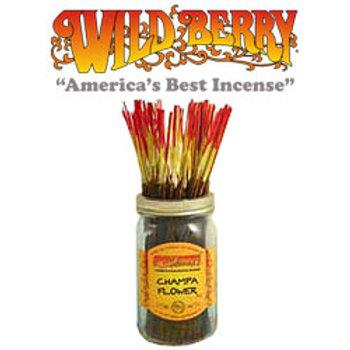 "Champa Flower Wildberry 11"" Stick Incense"