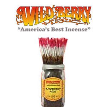 "Raspberry Rose Wildberry 11"" Stick Incense"