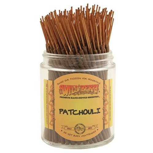 "Patchouli ""Shorties"" Wildberry 4"" Stick Incense"