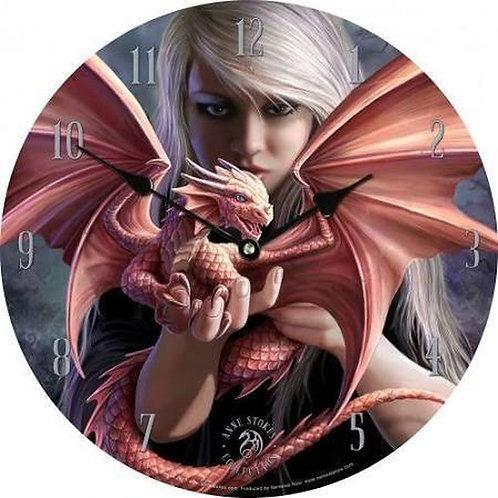 Anne Stokes Collection Exclusive Dragonkin Clock