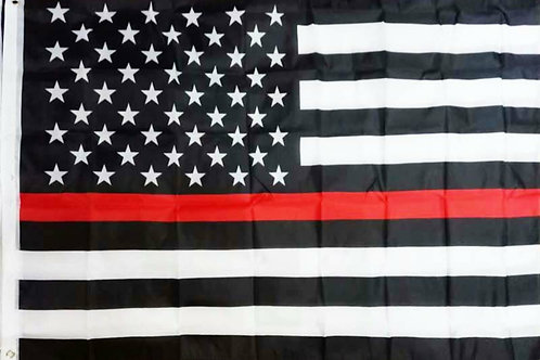 Thin Red Line Flag 3' x 5'