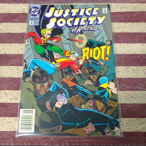 Sept 92 Justice Society of America