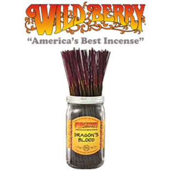 "Dragon's Blood Wildberry 11"" Stick Incense"