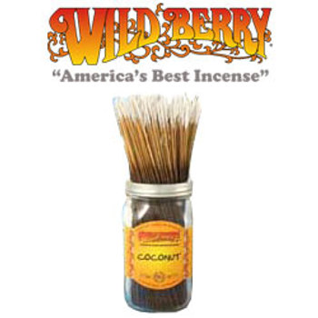 "Coconut Wildberry 11"" Stick Incense"
