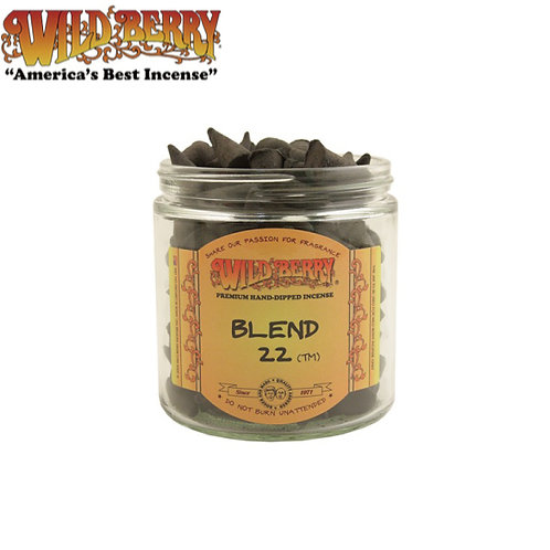 Blend 22 Cones Wildberry Incense