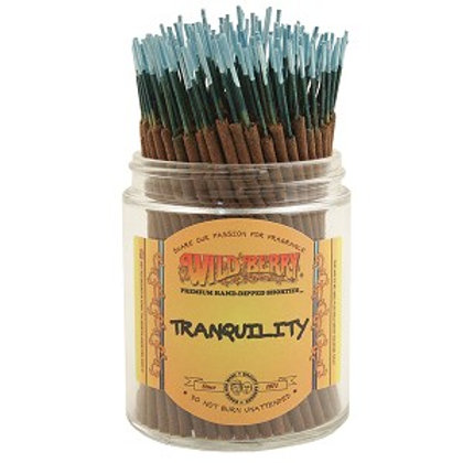 "Tranquility ""Shorties"" Wildberry 4"" Stick Incense"