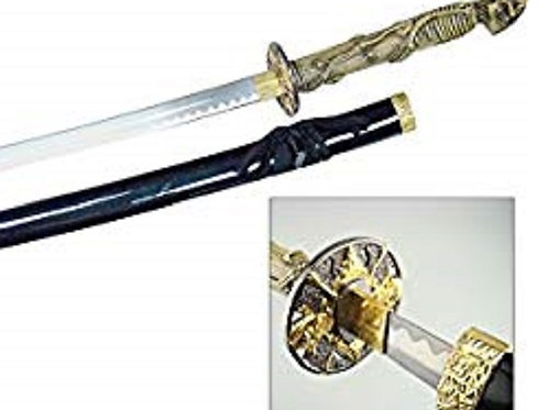 Frost Cutlery Resin Skull Sword