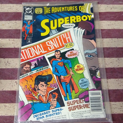 Feb 91 The Adventures of Superboy