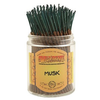 "Musk Wildberry 4"" Stick Incense"