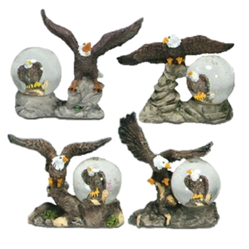 Assorted Eagle with Globe