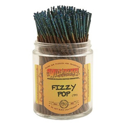 "Fizzy Pop ""Shorties"" Wildberry 4"" Stick Incense"