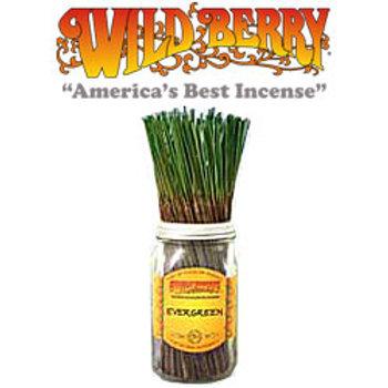 "Evergreen Wildberry 11"" Stick Incense"