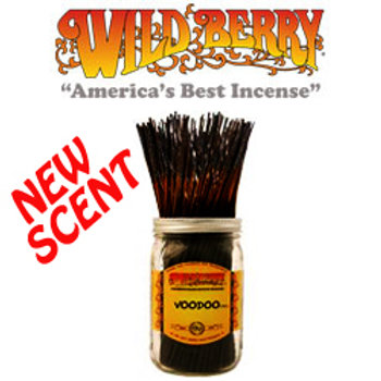 "Voodoo Wildberry 11"" Stick Incense"