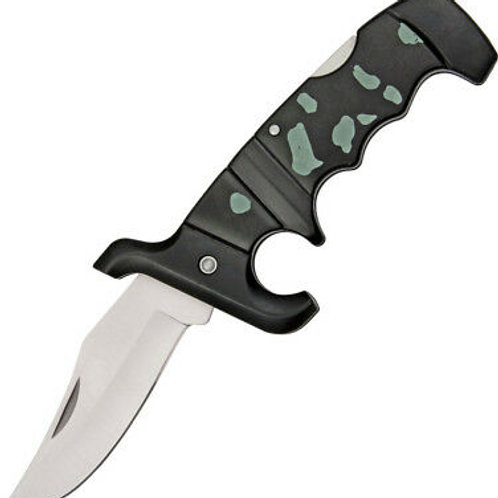 CAMO DEFENDER FOLDING KNIFE
