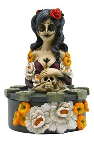 Day of the Dead Trinket Box