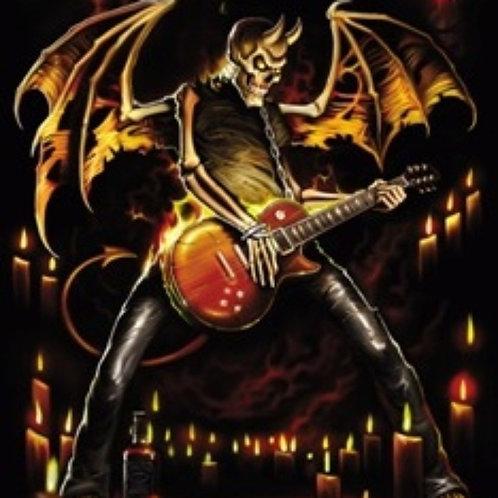 Guitar Hero Poster- Bone Devil