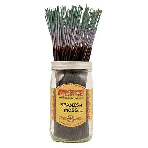 "Spanish Moss Wildberry 11"" Stick Incense"
