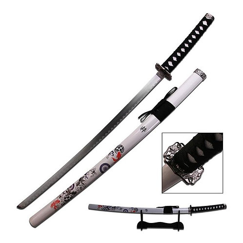 Coi Samurai Sword with Stand