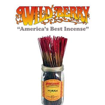 """Myrrh Wildberry 11"""" Stick Incense"""