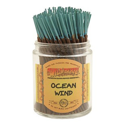 "Ocean Wind Wildberry 4"" Stick Incense"