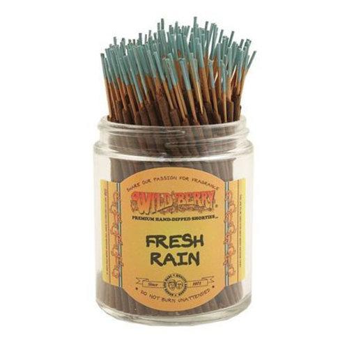 "Fresh Rain ""Shorties"" Wildberry 4"" Stick Incense"