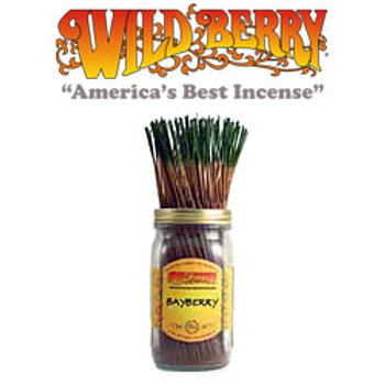 "Bayberry Wildberry 11"" Stick Incense"