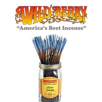 "Yin Yang Wildberry 11"" Stick Incense"