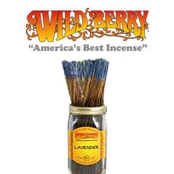 "Lavender Wildberry 11"" Stick Incense"
