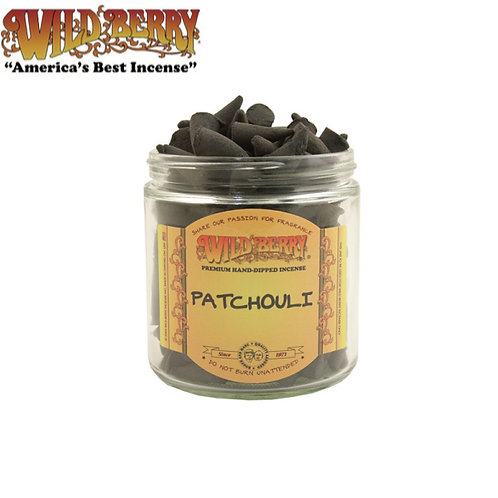 Patchouli Cones Wildberry Incense