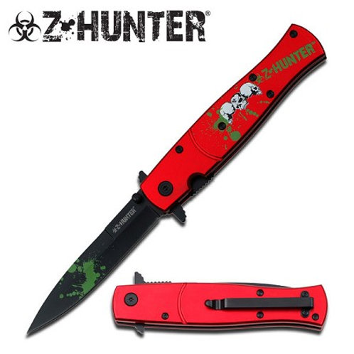 SPRING ASSISTED KNIFE - BY Z-HUNTER