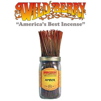 "Amber Wildberry 11"" Stick Incense"