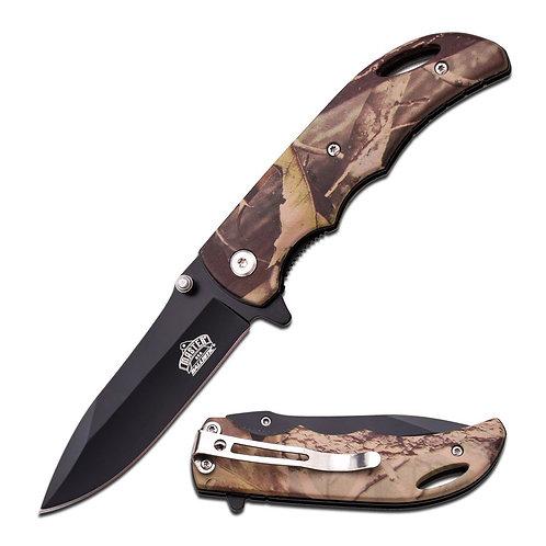 Master USA Folding Blade Forest Camo