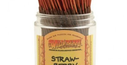 "Strawberry ""Shorties"" Wildberry 4"" Stick Incense"