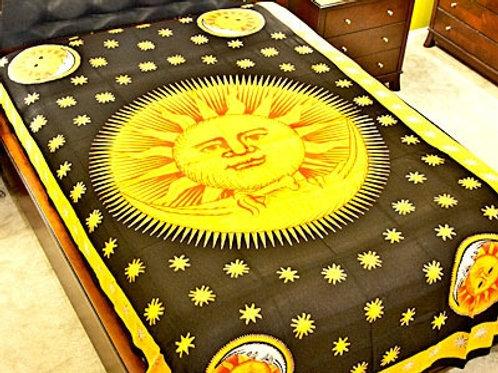 "Multicolor Celestial Tapestry - 72"" x 108"""