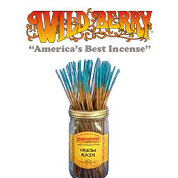 "Fresh Rain Wildberry 11"" Stick Incense"