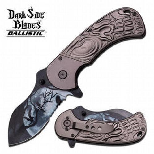 Master Cutlery DARK SIDE BLADES SPRING ASSISTED KNIFE